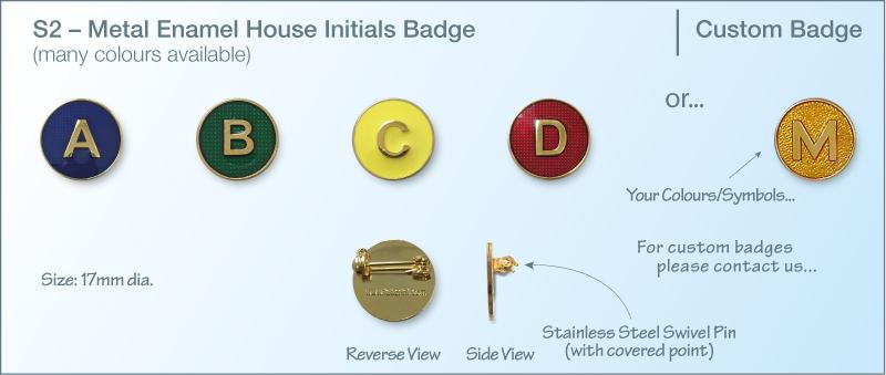 Metal Enamel Badges | Fattorini